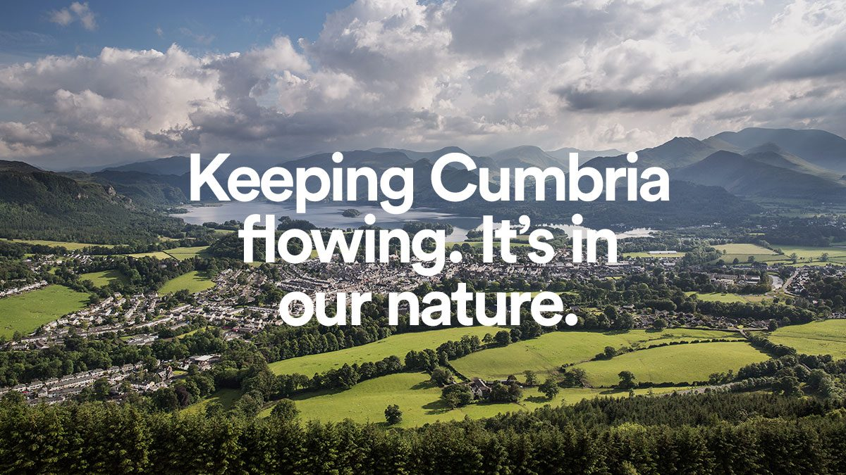 Keeping Cumbria Flowing | United Utilities